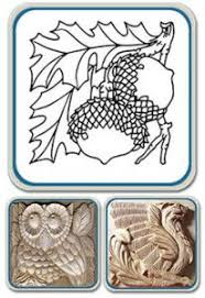 101 artistic relief patterns for woodcarvers woodburners crafters