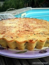 tarte sucree sans pate quiche sans pâte courgettes et brousse maison autour de ma table