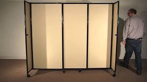 StraightWall Portable Sliding Room Divider by Versare