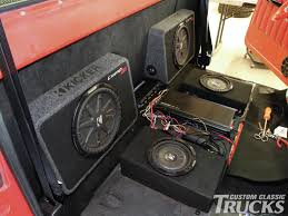 1968 Chevy C10 - Kickin' Off The Back Of A Cab - Custom Classic ... 1992 Mazda B2200 Subwoofers Pinterest Kicker Subwoofers Cvr 10 In Chevy Truck Youtube I Want This Speaker Box For The Back Seat Only A Single Sub Though Truck Rockford Fosgate Jl Audio Sbgmslvcc10w3v3dg Stealthbox Chevrolet Silverado Build 675 Rear Doors Tacoma World Header News Adds Subwoofer Best Car Speakers Bass Stereo Reviews Tuning What Food Are You Craving Right Now Gamemaker Community 092014 F150 Vss Substage Powered Kit Super Crew Sbgmsxtdriverdg2 Power Usa