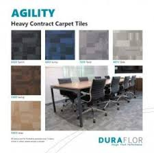 Heavy Contract Carpet Tiles by Duraflor Welcome To