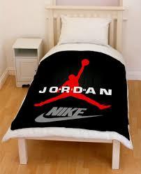 100 Michael Jordan Bedroom Set Chicago Bulls Throw Fleece Blanket Fleece