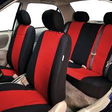 Neoprene 3 Row Car Seat Covers For SUV Van Truck Beige 7 Seaters Red ...