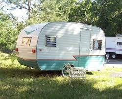 1960 DeVille 12 Vintage Travel Trailer Camper Canned Ham
