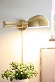 25 hacks for living in small spaces swing arm wall ls