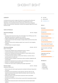 Client Service Manager - Resume Samples And Templates | VisualCV Interior Design Cover Letter Awesome Graphic Example Customer Service Resume Sample 650778 Resume Sample Of Client Service Representative Samples Velvet Jobs Manager Filipino Floatingcityorg 910 Summary Samples New Sales Assistant Nosatsonlinecom Customer Objective Wwwsailafricaorg Monstercom And Writing Guide 20 Examples Rep Forallenter Job With No Experience For Call