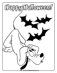 Mickey And Friends Halloween 1 Free Disney Coloring Pages