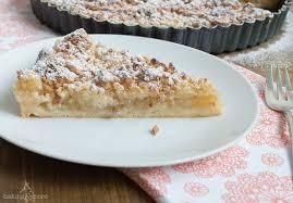 apfel vanille tarte mit marzipanstreuseln apple vanilla