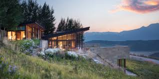 100 Jackson Hole Homes Wyoming Home Inspired By Frank Lloyd Wright For Sale