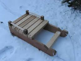 diy snow sled handyman tips