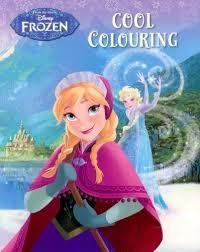 Disney Frozen Cool Colouring Book