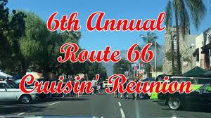 Route 66 Cruisin Reunion 2018 @ Ontario, California - YouTube
