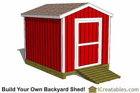 8 X 10 Gambrel Shed Plans by 8x10 Shed Plans Diy Storage Shed Plans Building A Shed