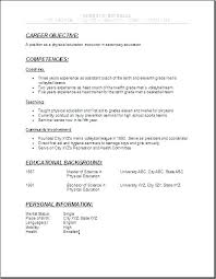 Resume Examples For High School Graduates Sample Graduate Student