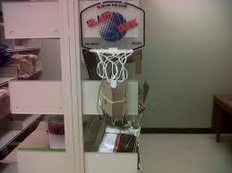 Baden Glow In The Dark Mini Basketball Hoop