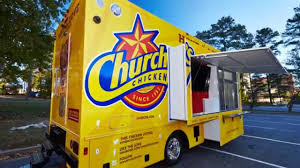 Church's Chicken Food Truck - YouTube