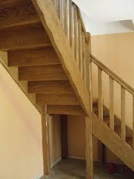 escalier quart tournant avec palier intermédiaire
