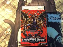 Vanguard Trial Deck 1 by Product Review G Start Deck 1 Odyssey Of The Interspatial Dragon