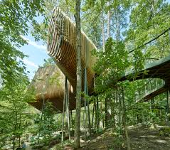 100 Tree House Studio Wood Slender Pine Slats Enclose Evans In Arkansas By Modus