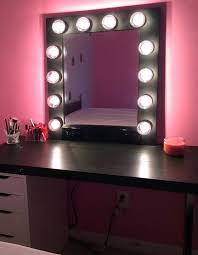 vanity mirror with light bulbs around it revlon makeup australia