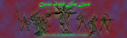 Curse Of The Lich Lord A Dungeons Dragons Table Top Game