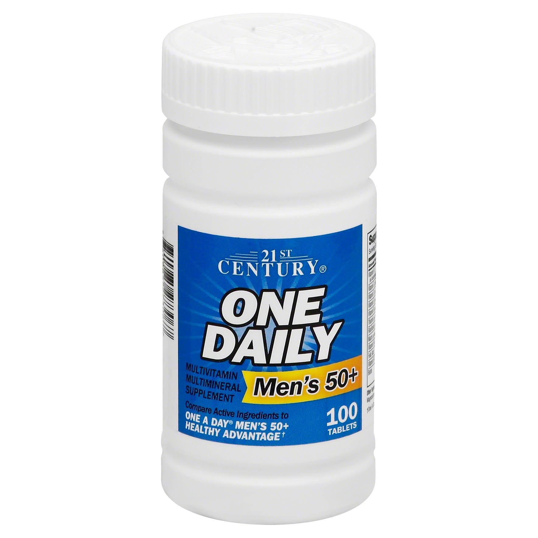 21st Century One Daily Men's 50 Plus Tablet Supplement - 100 Count