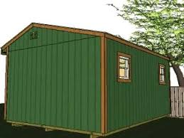 16x12 garden shed plans youtube