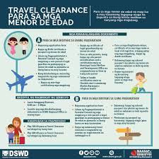 DSWD Field Office VIII TRAVEL CLEARANCE FOR MINORS
