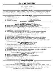 Best Photos Of Government Administrator Resume Examples Sample