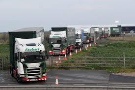 100 Global Truck Traders UKs Nodeal Brexit Truck War Game Prompts Scorn Reuters
