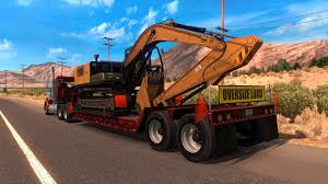 Oversized Excavator - Mod For American Truck Simulator - Other Goldhofer Semitrailer For American Truck Simulator Kenworth T660 V15 Heavy Tractor Trailer Weathering Equipment Tool Machinery Stock Photos Carrier Touts Dump Trailer Ranger Design Van By Youtube Home Facebook Cargo Pack Pc Game Key Keenshop Mack New Ats Mods Us Army Pete 389 Digger Tijuana