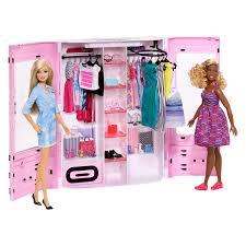 Barbie Ultimate Armario Rosa Con 2 Muñecas Barbie Fashionista Y