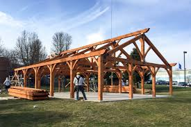 30' X 50' Timber Frame Pavilion At WCSU: The Barn Yard & Great ... Timber Frame Wood Barn Plans Kits Southland Log Homes Wedding Event Venue Builders Dc House Plan Prefab For Inspiring Home Design Ideas Great Rooms New Energy Works Homes Designed To Stand The Test Of Time 1880s Vermont Vintage For Sale Green Mountain Frames Prefabricated Screekpostandbeam Barn Sale Middletown Springs Waiting Perfect Frame Your Style Home Post And Beam Sales Spring Cstruction