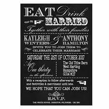 personalised vintage fayre invitations 3 card set on