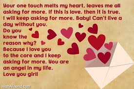 Inspirational Sweet Love Letters for Her