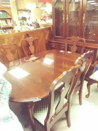 China Cabinet Table 6 Chairs Complete Dining Room Set For Sale In High Point NC