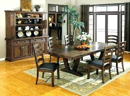 Western Dining Room Tables Page 4 Set Table Back To Rustic Sets Chairs