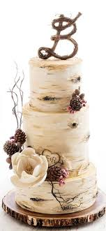 Birch Tree Vintage Wedding Cakes