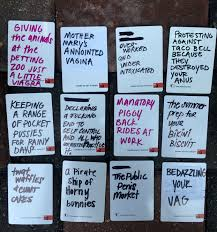 Awesome Blank Card Ideas For Cards Against Humanity Game DIY WRITE YOUR OWN HILARIOUS CARDS AGAINST