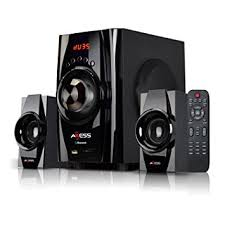Amazon AXESS Bluetooth Mini System 2 1 Channel Home Theater