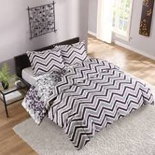 Walmart Chevron Bedding by Mainstays Wavy Bed In A Bag Bedding Set 45 For Comforter
