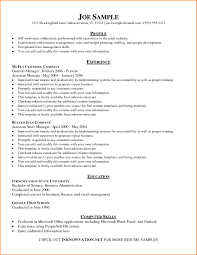 100 Basic Resume Example Skills In S Education Based Nguonhangthoitrangnet