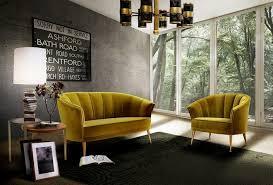 Y LIVING ROOM DECOR IDEAS Top 50 Yellow Velvet Armchairs 1 Home Inspiration Ideas