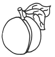 Full Size Of Peach Coloring Page Good Pages 22 With Additional Online Large Thumbnail