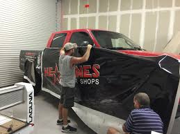 Tampa, FL – Own A Barber Shop? Check Out This Custom Truck Wrap On A ...