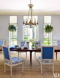 A Charles X Chandelier From Marvin Alexander Hangs In The Dining Room Where Louis XVI