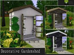 Decorative Garden Shed By Angela