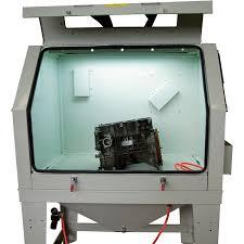 Media Blasting Cabinet Lighting by Allsource Monster Blast Cabinet Model 41800 Power Sand