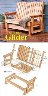 Outdoor Chair Plans 10 Best Ideas About Outdoor Furniture Plans