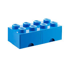 Blue XLarge Lego Storage Drawer The Container Store